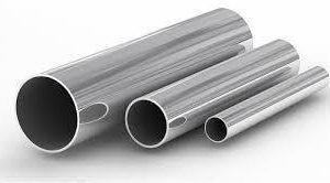 Труба из нержавеющей стали электросварная 38 х 1,5 х 6000 Марка 08Х17Н13М2